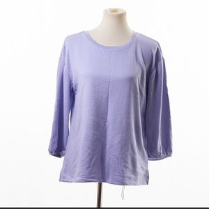 Old Navy Relaxed Ballon Sleeve French Terry Top M